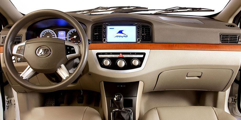 طراحی داخلی و مشخصات ظاهری لیفان 620