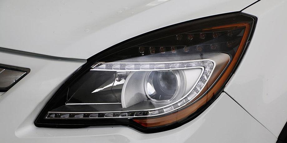تصویری از چراغ های لیفان X50