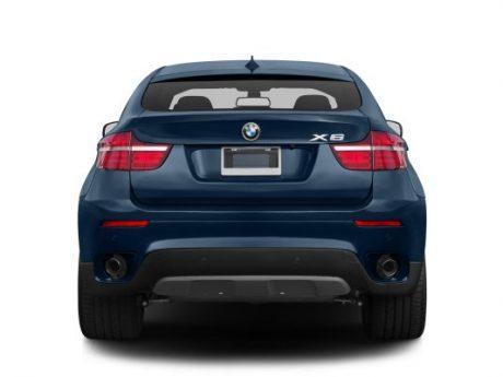 نمای عقب بیامو X6 xDrive50i مدل 2013